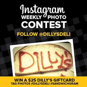 dilly's deli Instagram contest